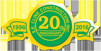 Cline Construction 20th Anniverary
